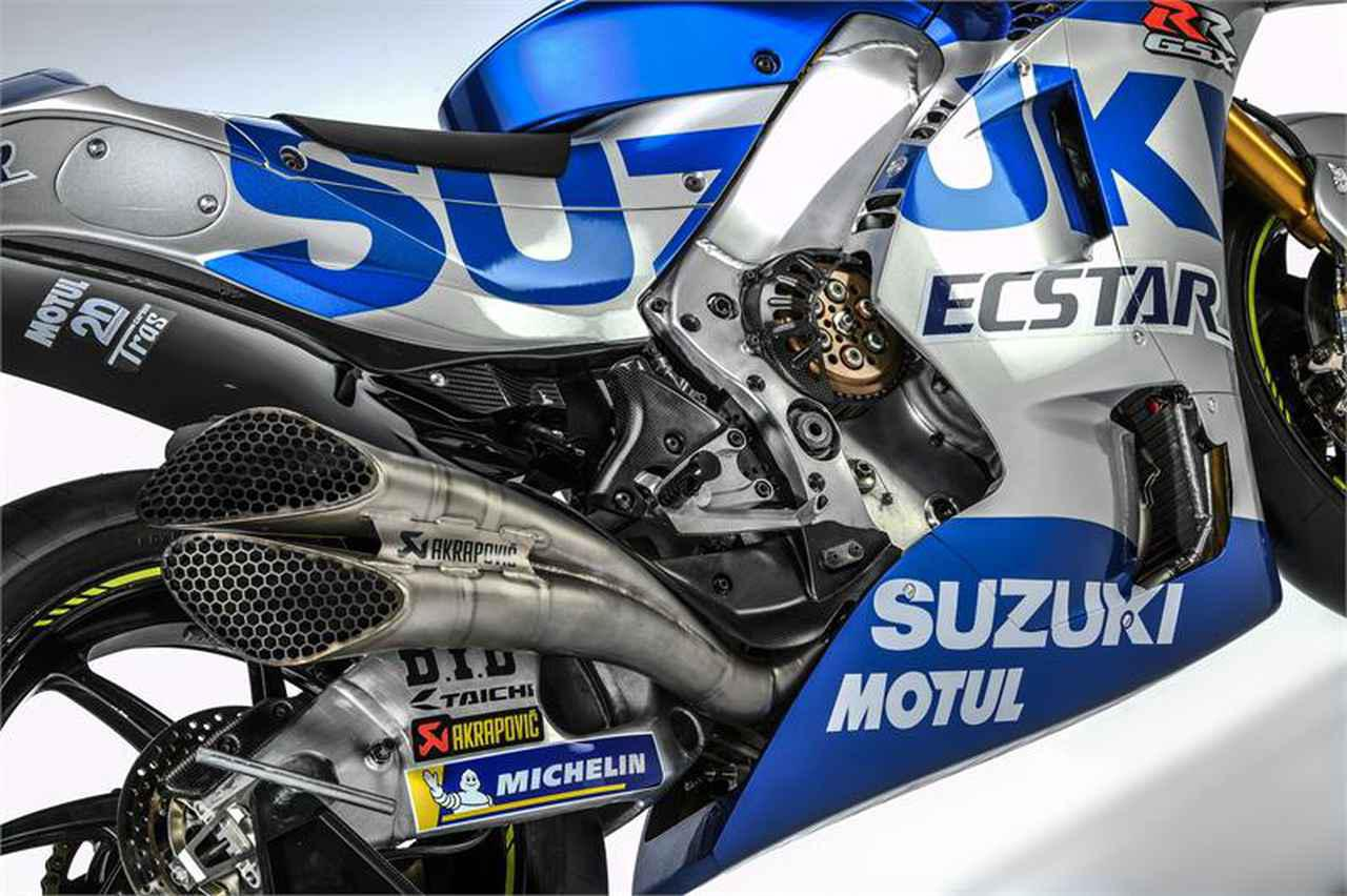画像: スズキのMotoGPマシンが〈ブルーシルバー〉に一新! Team SUZUKI ECSTAR が2020年シーズンを戦う「GSX-RR」を発表 - webオートバイ