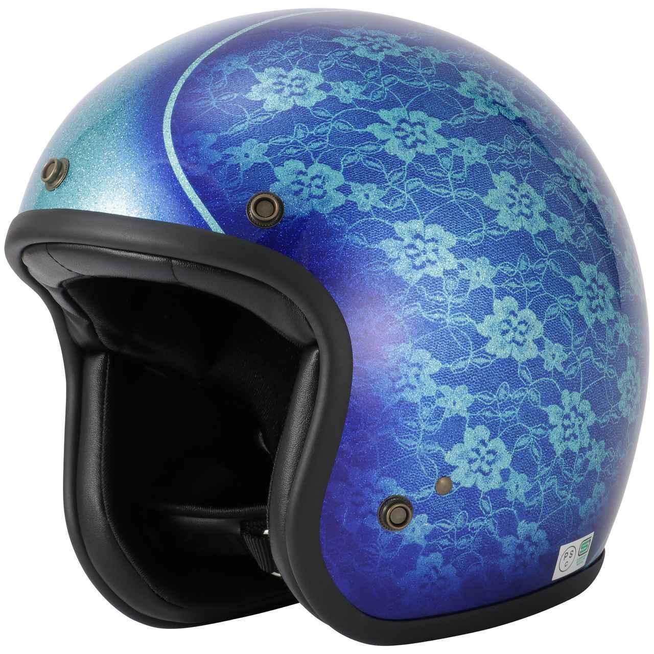 画像1: キャンディペイントで仕上げた大人のグラフィック! RIDEZが「二キトーヘルメット」の限定モデルを4月1日に発売