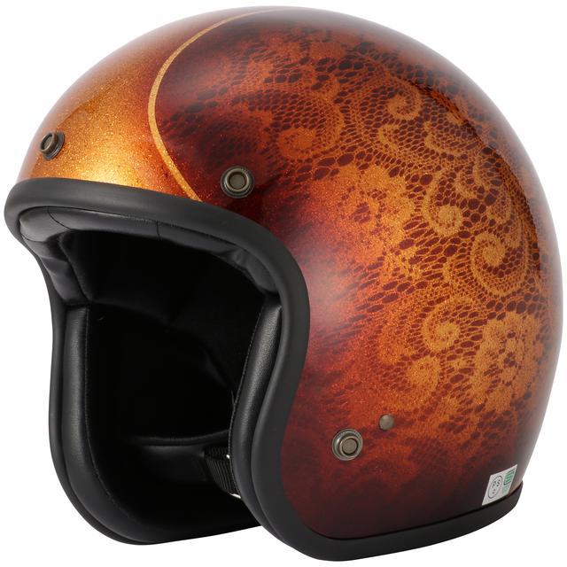 画像9: キャンディペイントで仕上げた大人のグラフィック! RIDEZが「二キトーヘルメット」の限定モデルを4月1日に発売