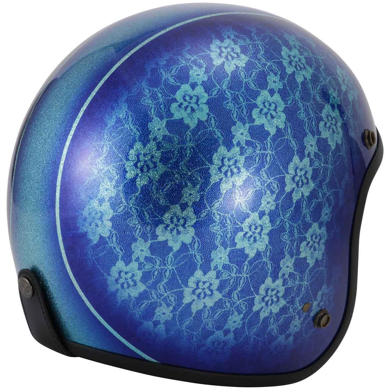 画像2: キャンディペイントで仕上げた大人のグラフィック! RIDEZが「二キトーヘルメット」の限定モデルを4月1日に発売