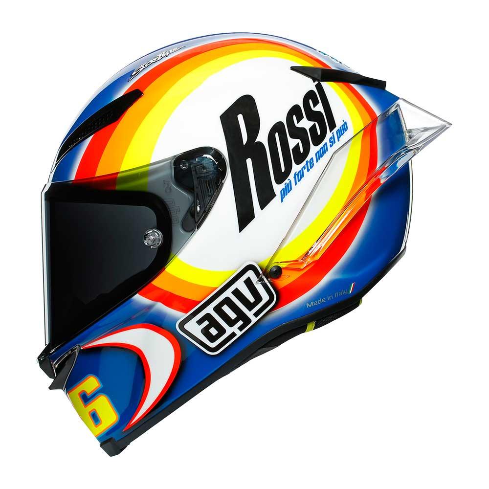 画像2: 4連覇中のチャンピオンがウインターテストで被ったヘルメットには「ロッシ、これ以上速くなりません」というイタリア語が!