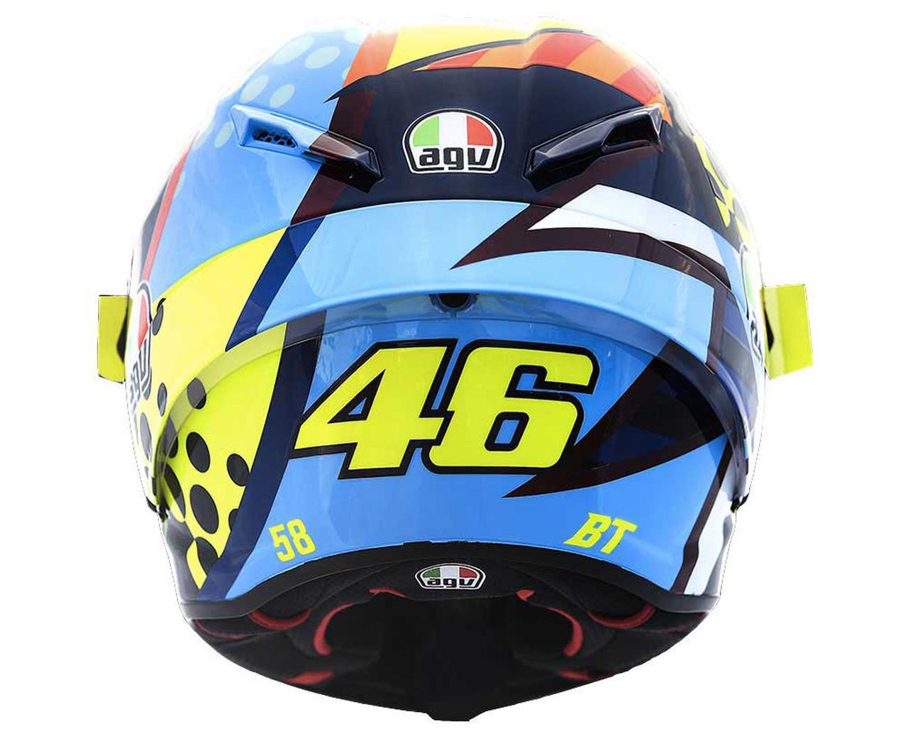 画像: 〈バレンティーノ・ロッシ〉最新レプリカヘルメット! AGVから「PISTA GP RR ウインターテスト 2020」が登場 - webオートバイ