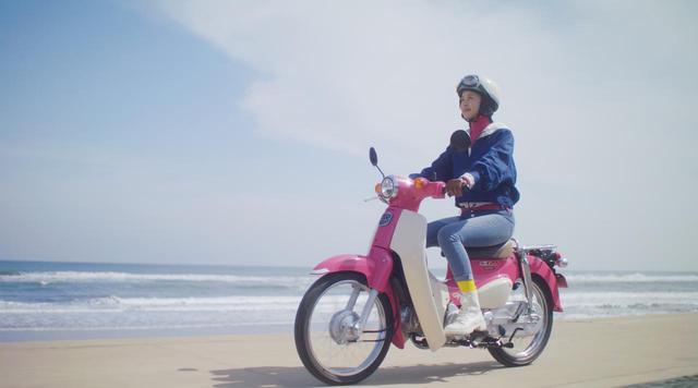 画像8: ピンクの「スーパーカブ110」でかけがえのない旅の思い出を。ホンダのレンタルバイク「HondaGO BIKE RENTAL」とは?