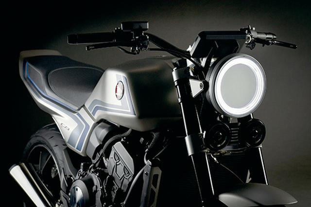 画像: ホンダが「CB-F CONCEPT」を世界初公開! 名車〈エフ〉の魂を受け継ぎ、栄光のスペンサーカラーを纏う! - webオートバイ