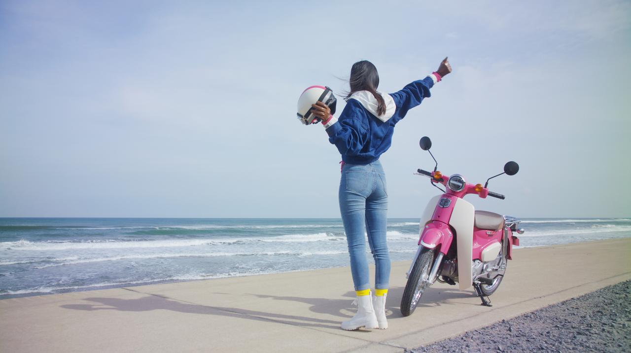 画像9: ピンクの「スーパーカブ110」でかけがえのない旅の思い出を。ホンダのレンタルバイク「HondaGO BIKE RENTAL」とは?