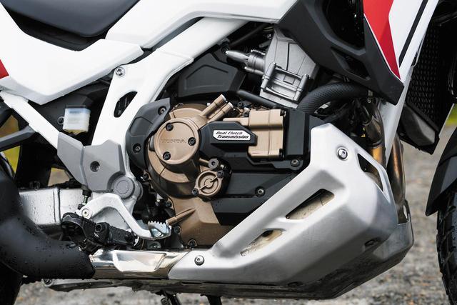 画像: 排気量を上げながら、旧型よりも2.2kgの軽量化(DCTモデル比)を果たした新型エンジンを搭載。