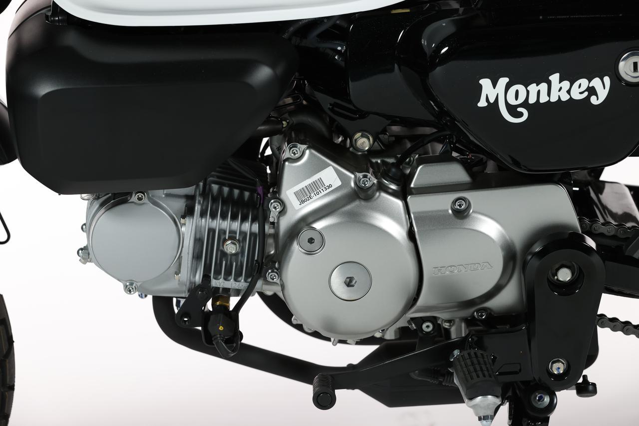Images : 9番目の画像 - ホンダ「モンキー125」新色:パールシャイニングブラックの写真をもっと見る! - webオートバイ