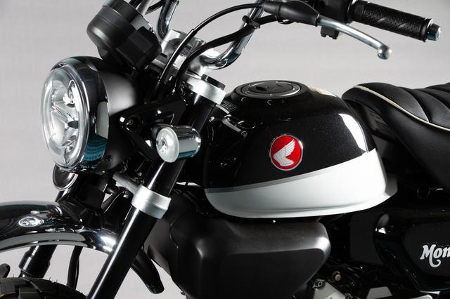 画像1: 原付二種MT車「モンキー125」の2020年モデルとして〈黒〉が仲間入り、赤・青・黄は継続販売!