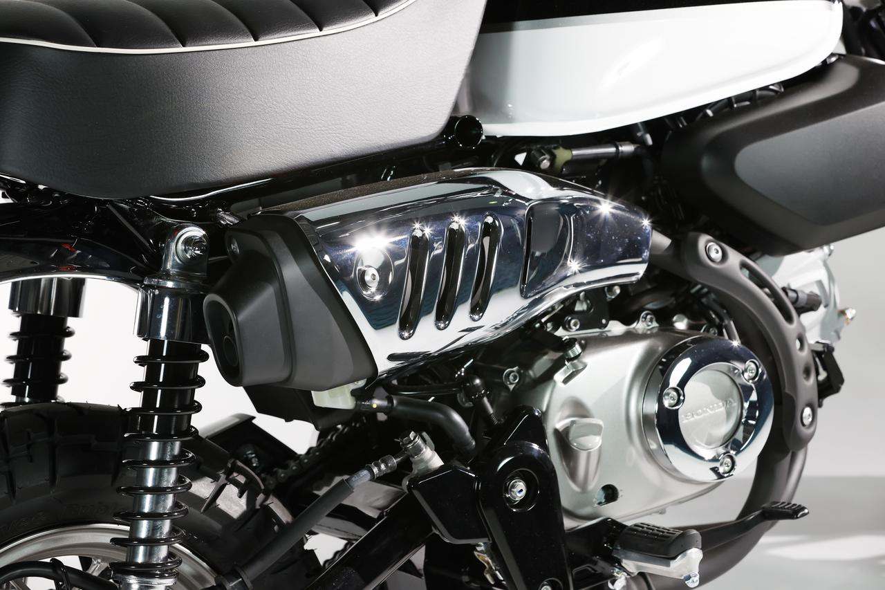 Images : 6番目の画像 - ホンダ「モンキー125」新色:パールシャイニングブラックの写真をもっと見る! - webオートバイ