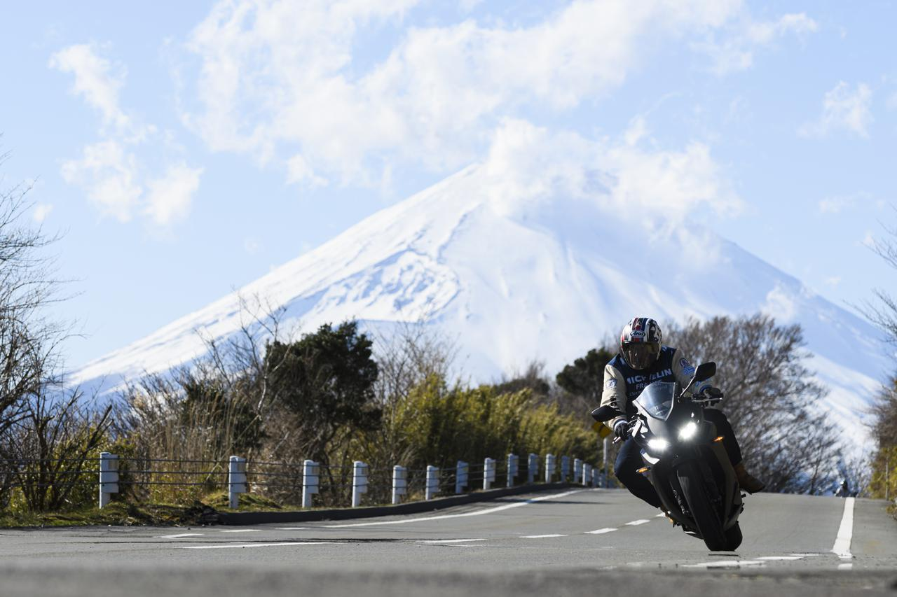 画像: そして、三ツ星の観光地「富士山」。今回は富士山がよく見えるポイントで走りを楽しみました!