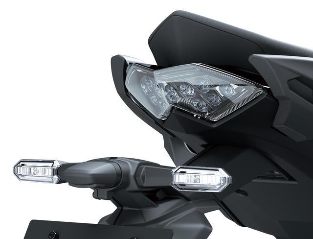 画像: LEDテールランプは、テールカウルの高級感を演出。赤色LEDバルブとスモークレンズを採用しています。