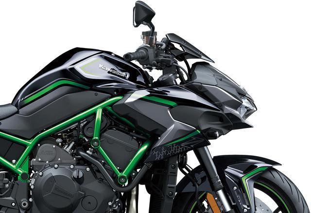 画像: 【速報】カワサキが「Z H2」国内仕様車の価格と発売日を発表! スーパーチャージドエンジンを搭載したフラッグシップZが降臨! - webオートバイ