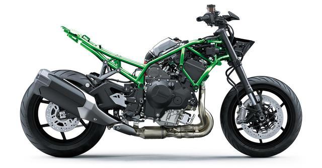 画像5: カワサキのスーパーネイキッド「Z H2」は何がすごいのか? エンジン・フレーム・装備を解説