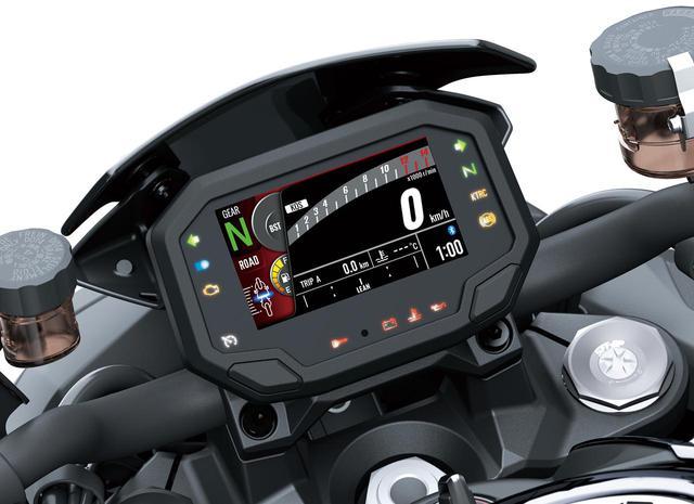 画像: 「Z H2」は、最新の電子制御システムを満載