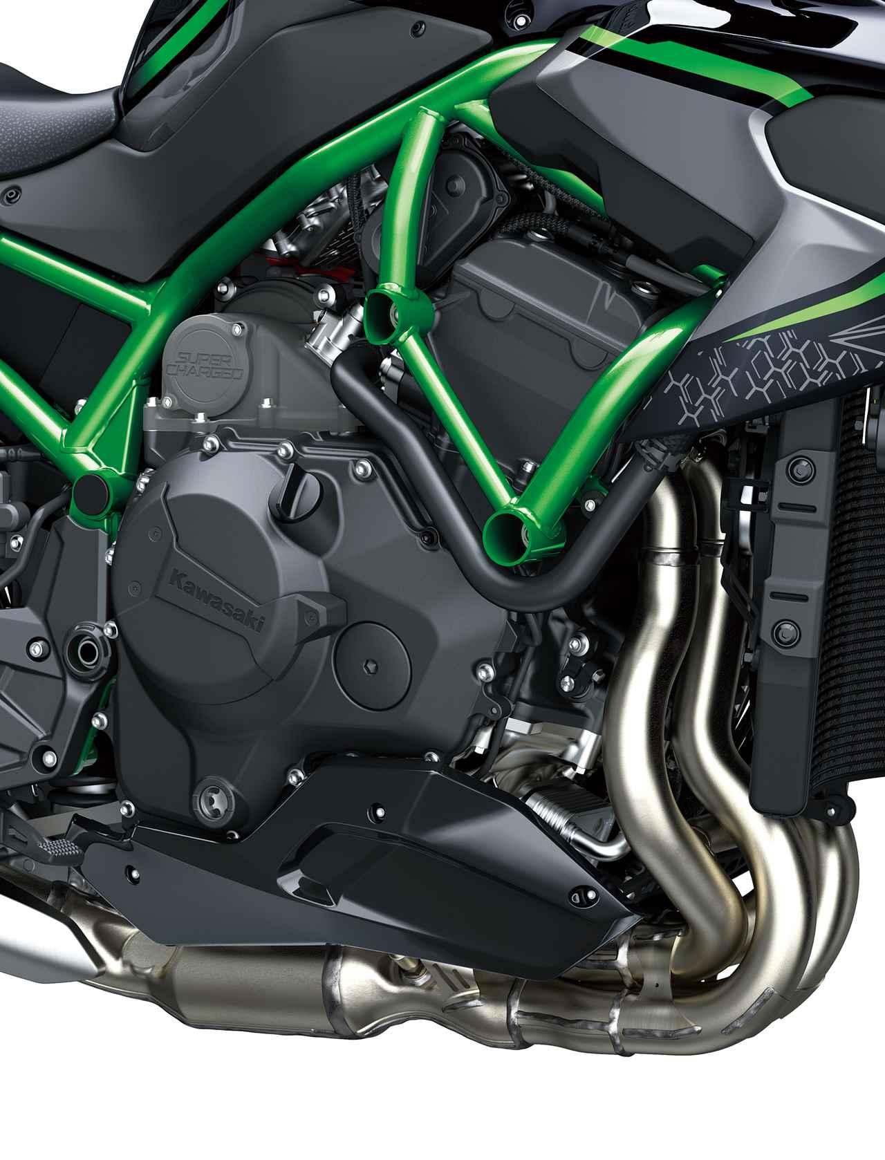 Images : 5番目の画像 - カワサキ「Z H2」の写真をもっと見る! - webオートバイ