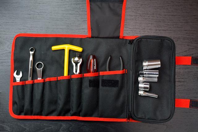 画像5: ホンダSUPER CUB50/70/90の工具を考える③ 工具収納編。ツールロールは工具巻き〈若林浩志のスーパー・カブカブ・ダイアリーズ Vol.8〉