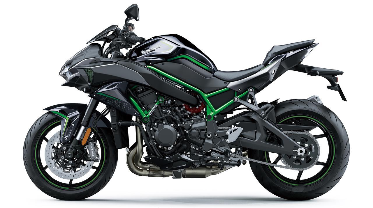 Images : 1番目の画像 - カワサキ「Z H2」の写真をもっと見る! - webオートバイ