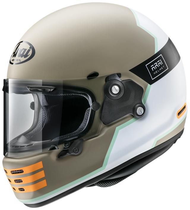 画像2: アドベンチャーバイクにも似合いそうなアライヘルメット「ラパイドNEO オーバーランド」が登場! カラーは2色展開!
