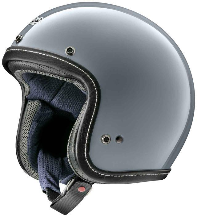 画像: アライからクラシック・ヘルメットの新モデル「CLASSIC AIR」が登場! インナーベンチレーションを配備し、内装は着脱式に! - webオートバイ