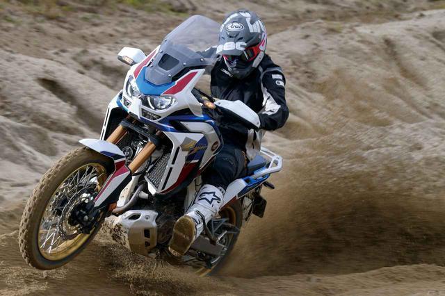 画像: 試乗インプレ<CRF1100L AFRICA TWIN ADVENTURE SPORTS>(三橋 淳) - webオートバイ