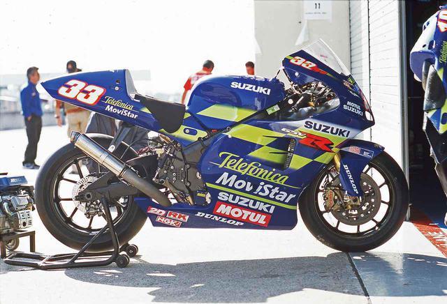 画像: 【MotoGP創成期③】WGPからMotoGPへ「4サイクル990㏄時代の初代GPマシンたち」<SUZUKI GSV-R 編>-2002年- - webオートバイ