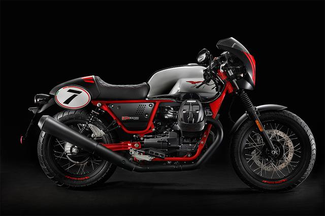 画像: MOTO GUZZI 公式サイト | V7Ⅲ RACER 10th ANNIVERSARY
