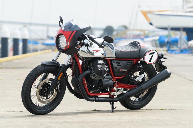 画像: MOTO GUZZI「V7Ⅲ RACER 10th ANNIVERSARY」 発売日:2020年4月1日(水)(※受注開始、出荷は5月中旬~予定) メーカー希望小売価格(税込):137万5000円