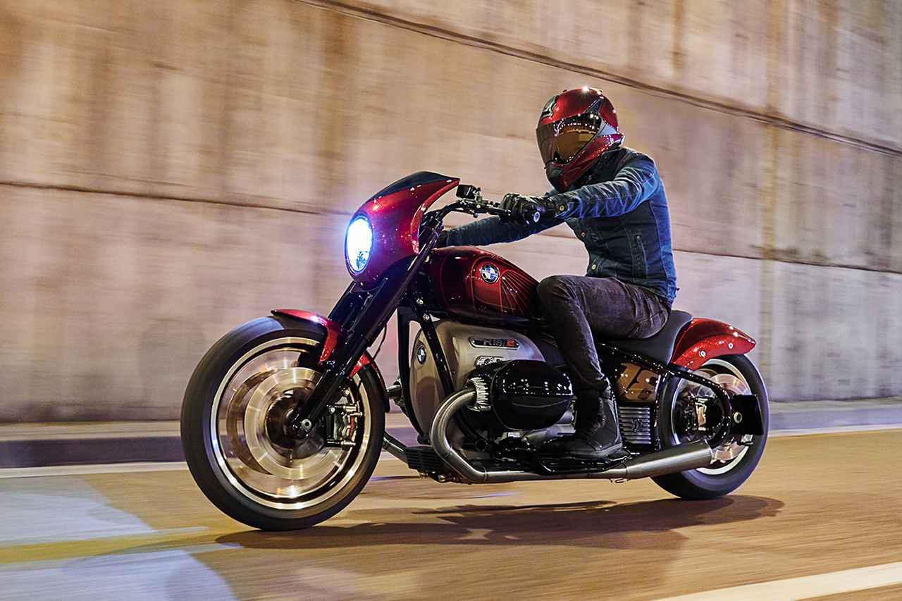 画像1: BMWのクルーザーが復活!?「Concept R18/2」がEICMA 2019で発表!ストリートドラッグ風デザインで市販化に期待! - webオートバイ