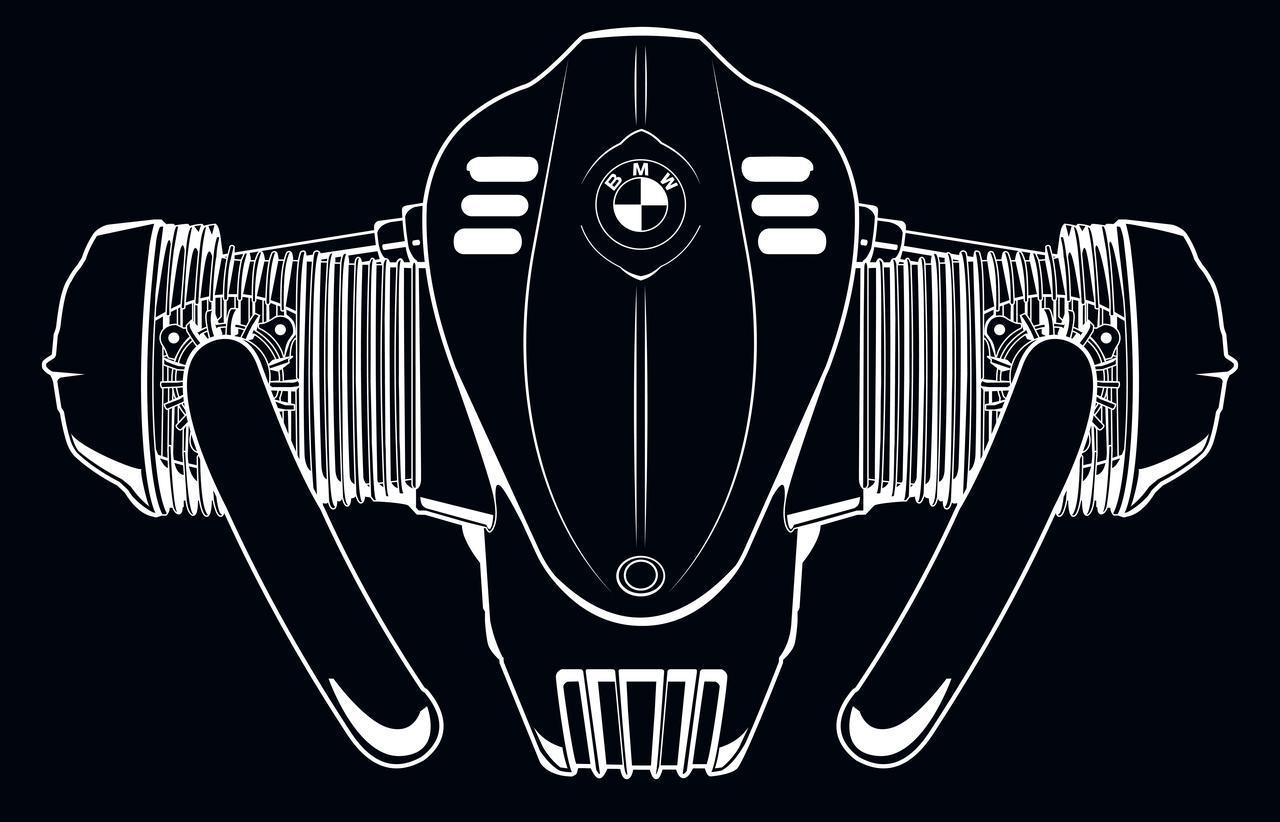 画像1: 【R 18】BMWが1800ccのビッグボクサーエンジンを搭載したニューモデルを近日公開予定! - webオートバイ