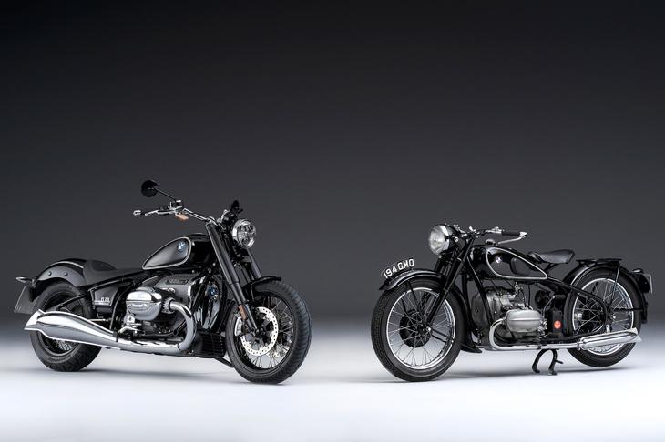 画像: BMW R18 FirstEdition(左)、1936年デビューの「R5」(右)