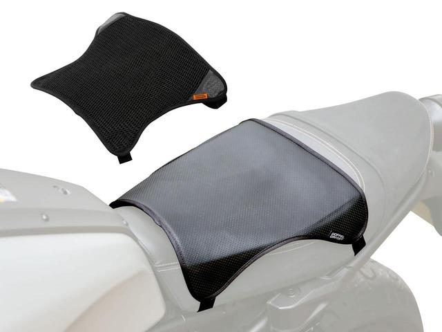 画像: メッシュとゲルの2枚重ねでシートの悩みを一発解決 ドッペルギャンガー「バイク用シートクッションセット クール&ゲル」 - webオートバイ