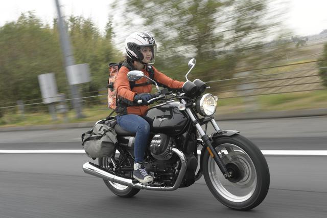 画像: 【女子部キャンツー 2/6】MOTOGUZZI V7III SPECIAL × 梅本まどか 編 - webオートバイ