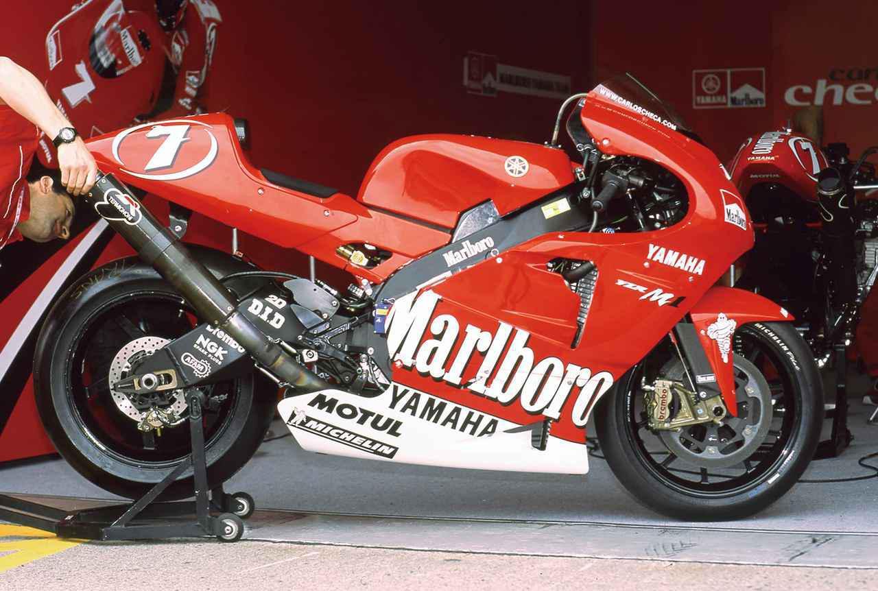 画像: 【MotoGP創成期②】WGPからMotoGPへ「4サイクル990㏄時代の初代GPマシンたち」<YAMAHA YZR-M1 編>-2002年- - webオートバイ