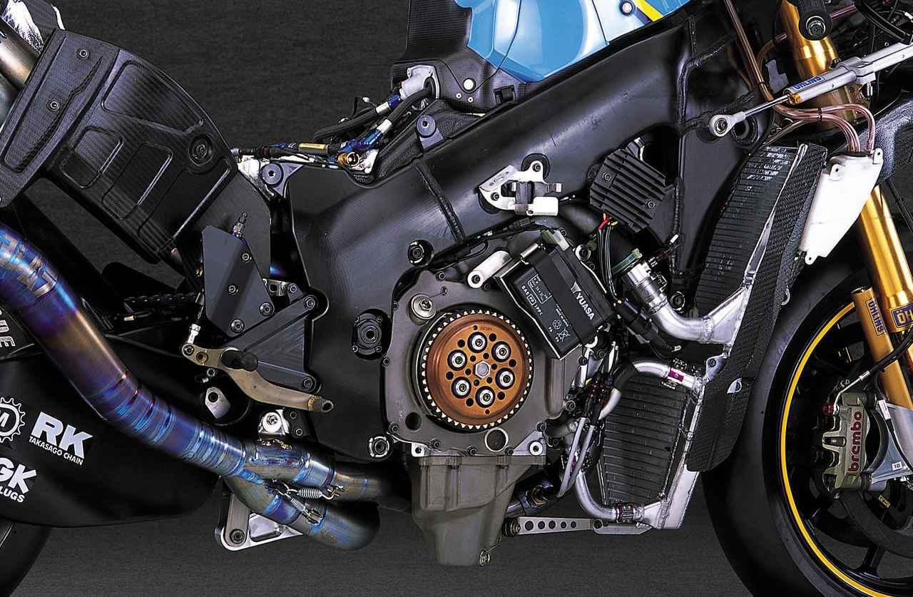 画像2: ニューマチックバルブスプリングを採用し、シリンダー挟み角を広げたエンジン