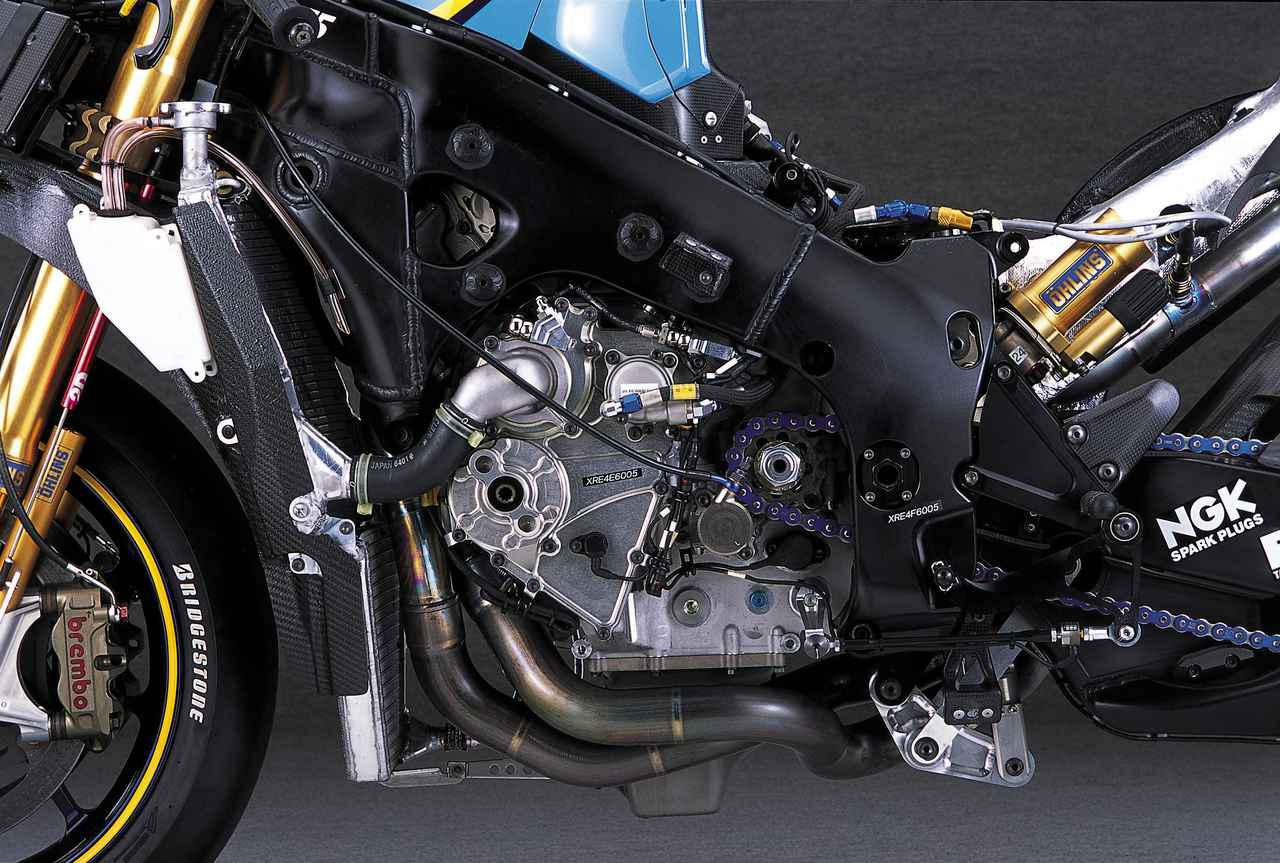 画像1: ニューマチックバルブスプリングを採用し、シリンダー挟み角を広げたエンジン