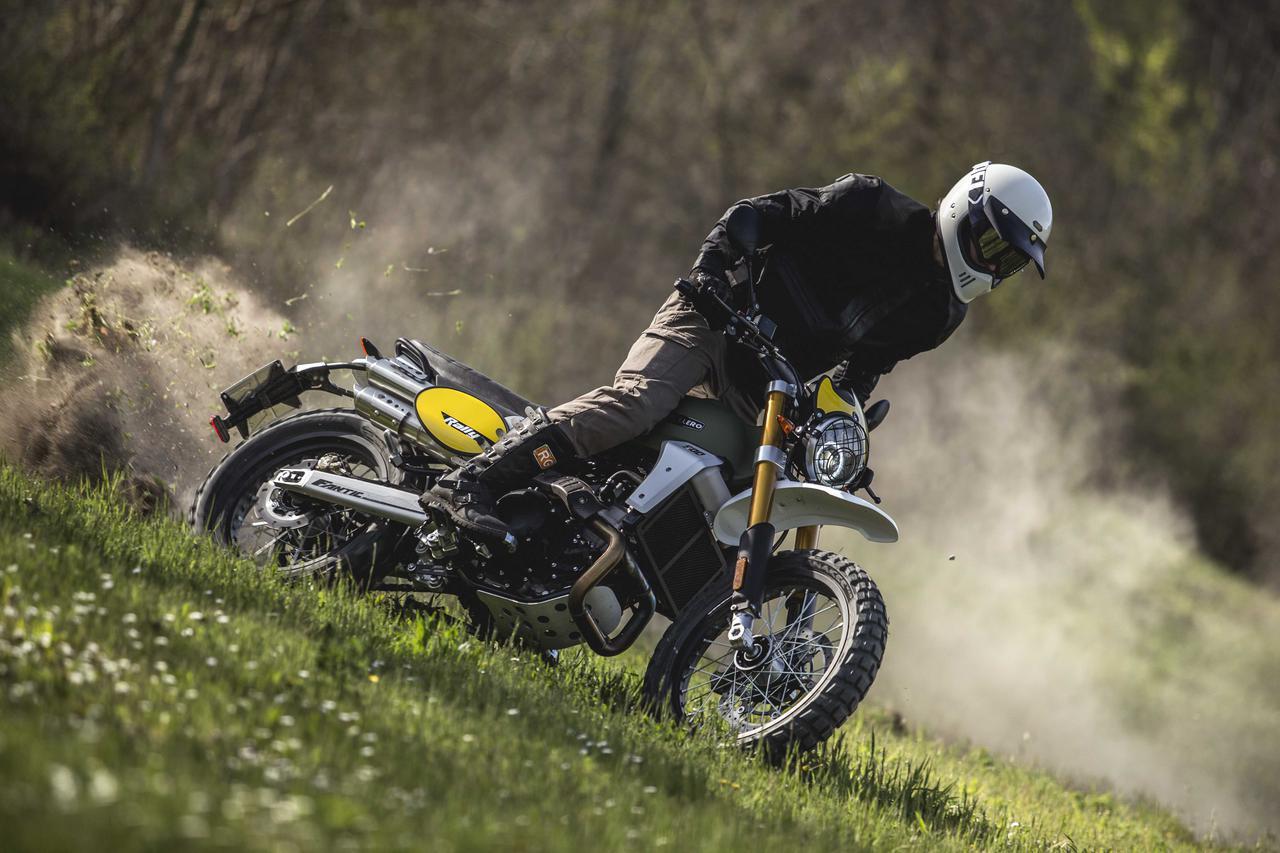 画像: 「FANTIC」の「CABALLERO」シリーズに、よりオフロード性能を高めた新型「RALLY500」が登場! - webオートバイ