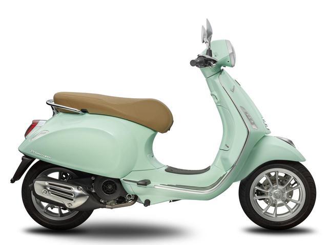 画像2: Vespa Primavera 125ABS / 150 ABS リラックスグリーン