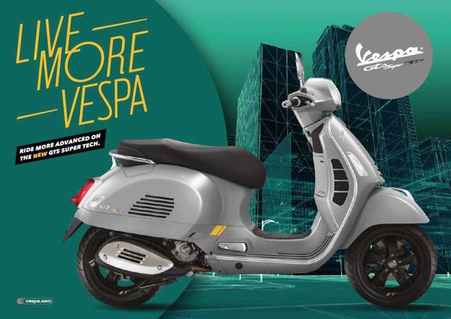 画像: 【新車】ベスパGTSシリーズの最高峰モデル「GTS SuperTech 300」が登場! 史上最強のハイテク装備が満載で2020年3月13日から受注開始! - webオートバイ