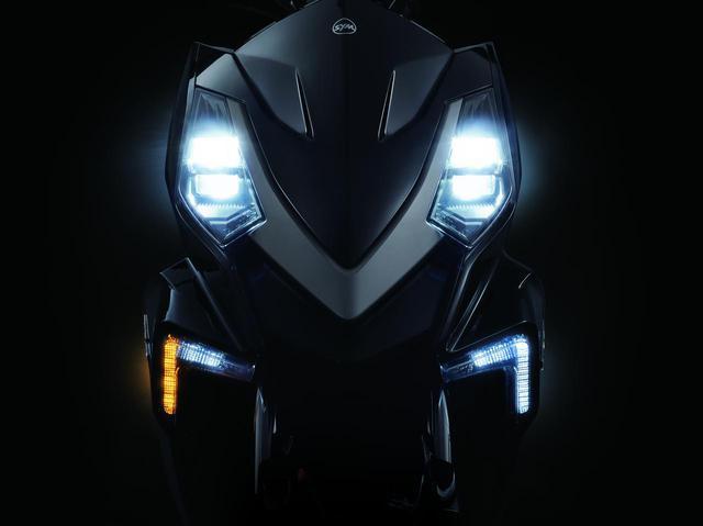 画像: ヘッドライトやウインカー、ポジションランプはLEDライトを採用しています。