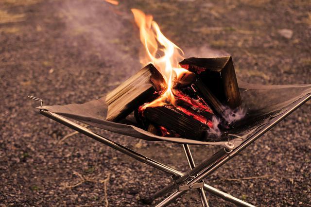 焚き火 ゆる 台 キャン