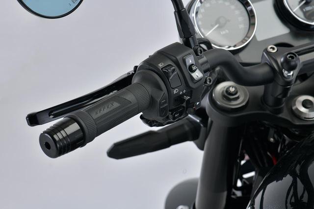 画像: EFFEX グリップヒーター スイッチ一体型 φ22.2用 税別:15,000円 plotonlinestore.com