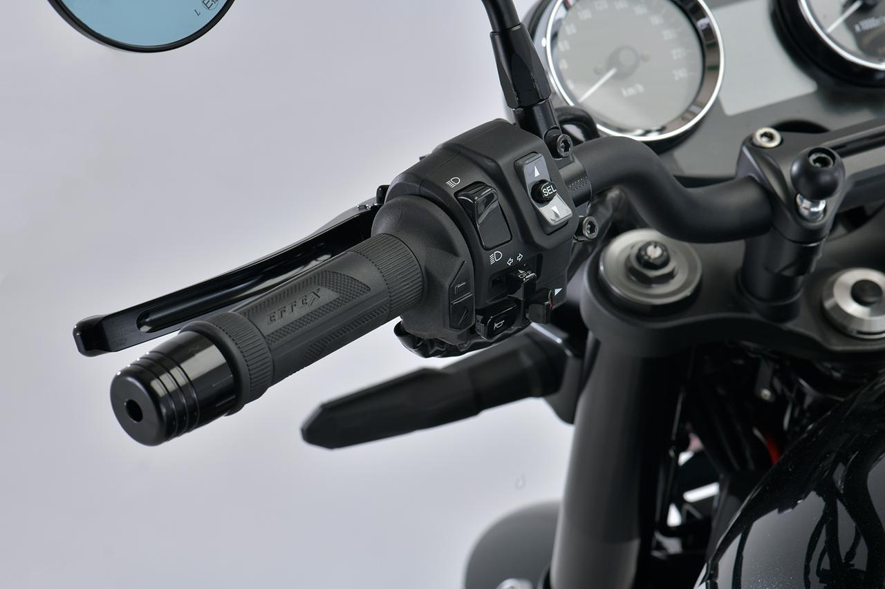画像: EFFEX グリップヒーター スイッチ一体型 φ22.2用 税別:15,000円