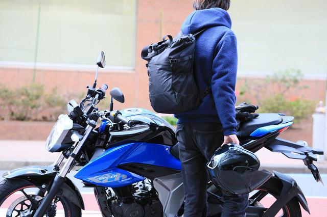 画像: 【詳しくはこちら!】 小さくたためるワークマンのバックパックがバイク乗りにとって便利かも?【編集部員の自腹インプレ】 - webオートバイ