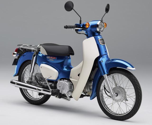 画像: Honda SUPER CUB 110 総排気量:109cc 2020年モデルの発売日:5月22日(金) 税込価格:28万500円