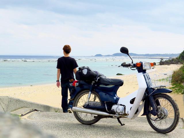 画像: 奄美大島「土盛海岸」。