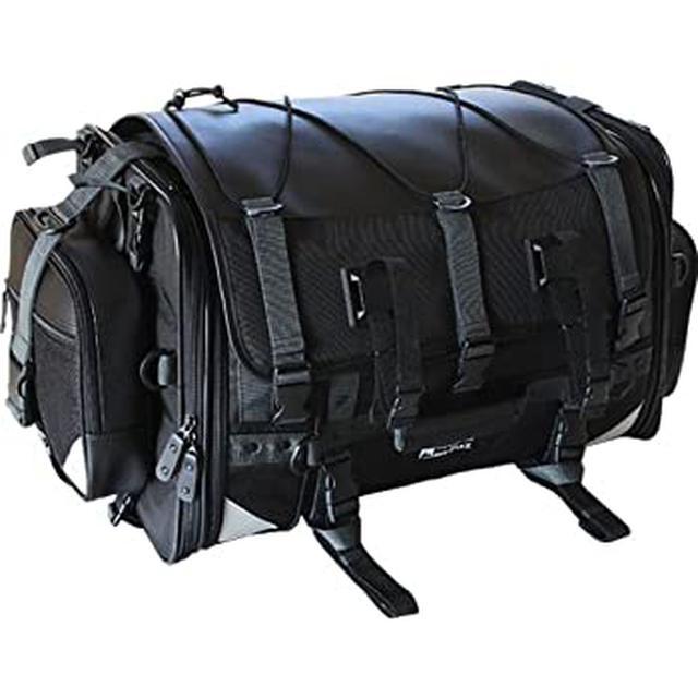 画像: 西野が主に使っているキャンプ用バッグ|Amazon | タナックス キャンピングシートバッグ2(可変容量59-75ℓ)