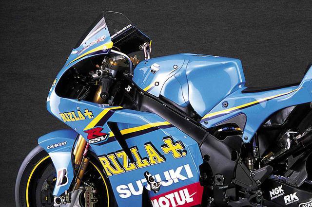 画像: 【MotoGP創成期】SUZUKI GSV-R(2006)徹底解剖<No.02>「990㏄時代最後の2006年型GSV-R」 - webオートバイ
