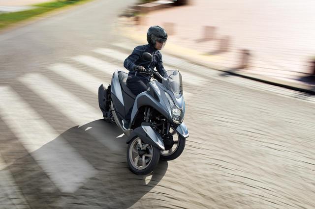 画像: ヤマハの「TRICITY 125/ABS」に新色が登場!  3月20日リリース! - webオートバイ