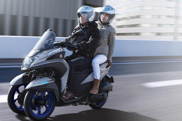 画像3: 三輪スクーター「トリシティ155 ABS」に新色が登場