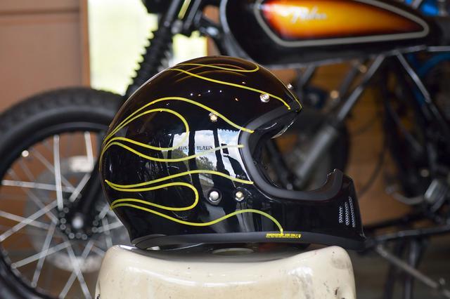 画像3: スーパーカッコ良いEX-ZEROを内職でもっとカッコ良くしたい!お手軽ヘルメットカスタムのすゝめ。〈若林浩志のスーパー・カブカブ・ダイアリーズ Vol.11〉